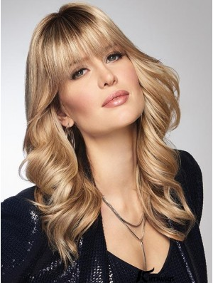 Synthetic Clip In Bangs/ Hair Topper (Mono Base)