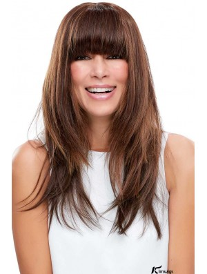 EasiFringe Clip-In Bangs   100% Remy Human Hairpiece