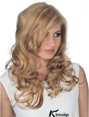 Wholesale Online Blonde Curly Long Celebrity Lace Front Wigs For Women