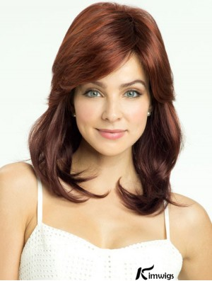 Straight Layered Shoulder Length Online Ombre/2 Tone Wigs
