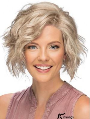 Lace Front Short Blonde Curly Affordable Classic Wigs For Women