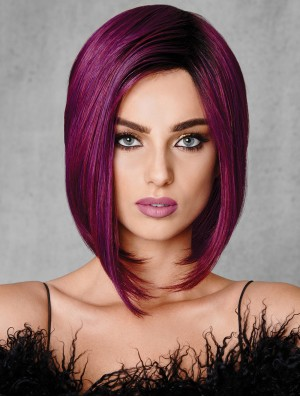 Ombre/2 Straight Capless Tone Bobs 10 inch High Quality Synthetic Wigs