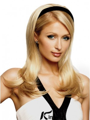 Great Blonde Synthetic Straight Hair Falls